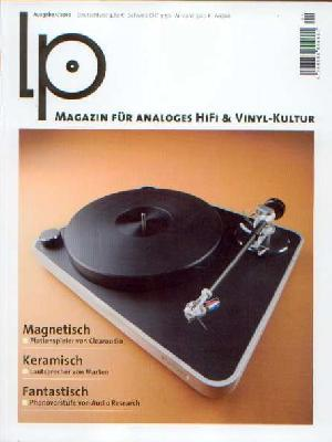 LP - HiFi Magazin: 01/2010, Coverabbildung