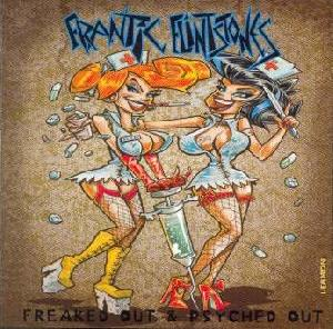 Frantic Flintstones: Freaked out & psyched out, Coverabbildung